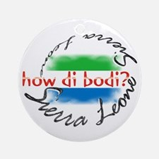 How di bodi? - Ornament (Round)