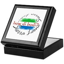 How di bodi? - Keepsake Box