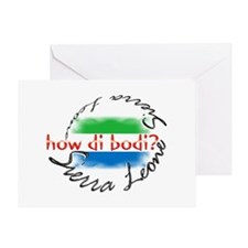 How di bodi? - Greeting Card