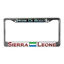 How Di Bodi? Sierra Leone - License Plate Frame