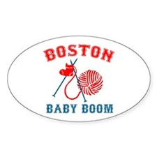 Boston Baby Boom Oval Decal
