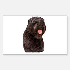 Bouvier Des Flandres Dog Rectangle Sticker 10 pk)