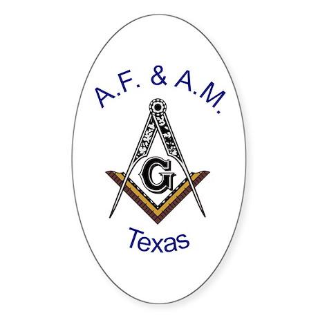 Texas S&C Sticker (Oval)