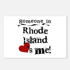 Someone in Rhode Island Postcards (Package of 8)