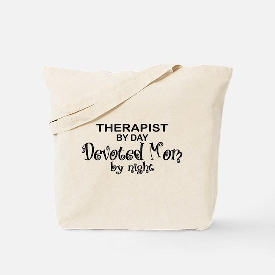 Therapist Devoted Mom Tote Bag