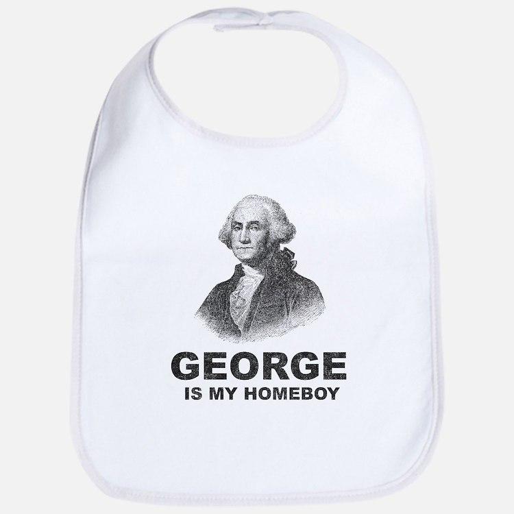 George Washington Is My Homeboy Bib