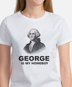George Washington Is My Homeboy Women's T-Shirt