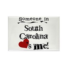 Someone in South Carolina Rectangle Magnet