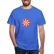 Orange Guiding Star T-Shirt