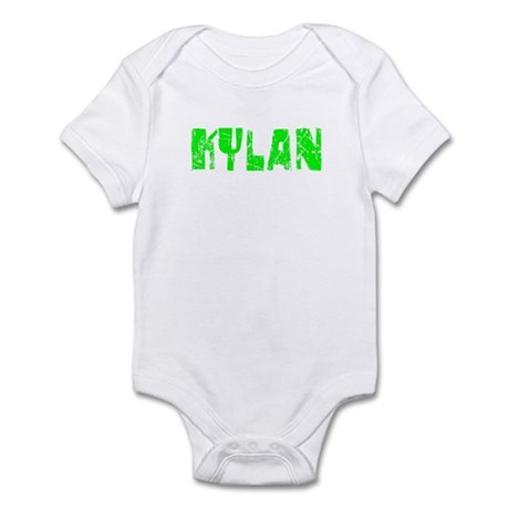 Kylan Faded (Green) Infant Bodysuit