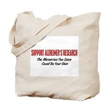 Support Alzheimer's Research 1 Tote Bag