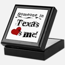 Someone in Texas Keepsake Box