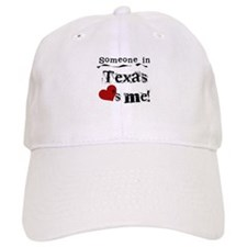 Someone in Texas Baseball Cap