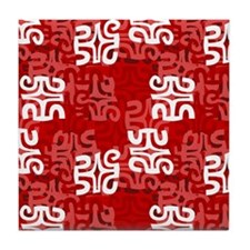 Swanky Mo Ruby Tile Coaster