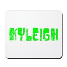 Kyleigh Faded (Green) Mousepad