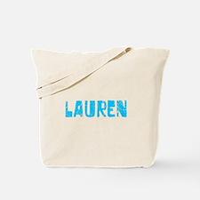 Lauren Faded (Blue) Tote Bag