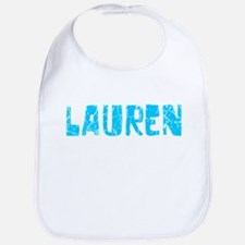 Lauren Faded (Blue) Bib