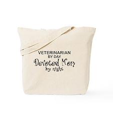 Vet Devoted Mom Tote Bag
