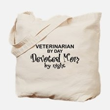 Vet Devoted Mom Tote Bag
