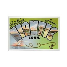 Niantic Connecticut Greetings Rectangle Magnet