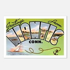 Niantic Connecticut Greetings Postcards (Package o
