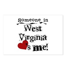 Someone in West Virginia Postcards (Package of 8)