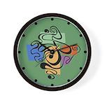 Smokey Joe Green Wall Clock