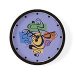Smokey Joe Lavender Wall Clock