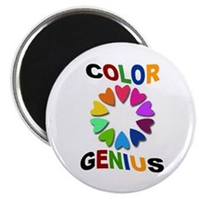 Color Genius Magnet