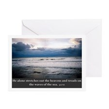 Cute Beach quotes Greeting Cards (Pk of 10)