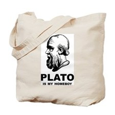 Plato Is My Homeboy Tote Bag