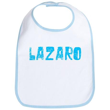 Lazaro Faded (Blue) Bib