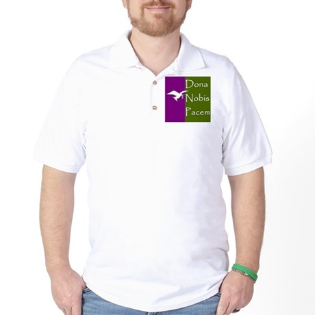 Give Us Peace Golf Shirt