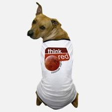 Think Red Colonize Mars Dog T-Shirt