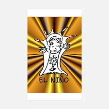 El Nino Rectangle Decal