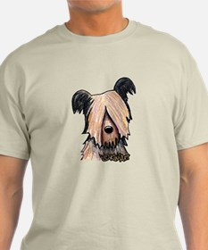 Skye Terrier Ash Grey T-Shirt