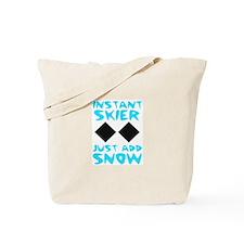 Instant Skier Tote Bag
