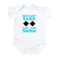Instant Skier Infant Bodysuit