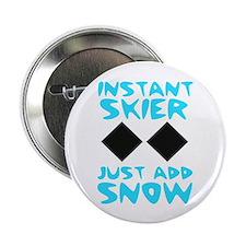 """Instant Skier 2.25"""" Button"""