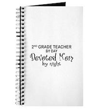 2nd Grade Teacher Devoted Mom Journal