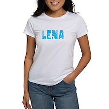 Lena Faded (Blue) Tee
