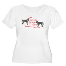 Caucasian Ovcharka Xword T-Shirt