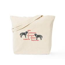 Caucasian Ovcharka Xword Tote Bag