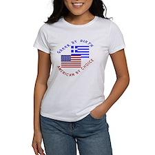 Greek By Birth American By Choice Tee