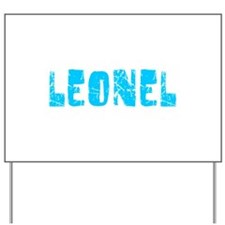 Leonel Faded (Blue) Yard Sign