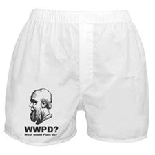 What Would Plato Do? Boxer Shorts