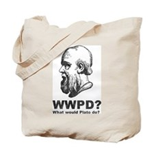 What Would Plato Do? Tote Bag