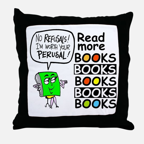 Library Special Throw Pillow