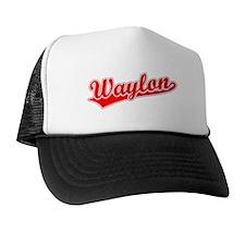 Retro Waylon (Red) Cap