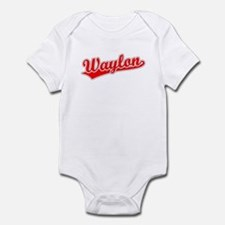 Retro Waylon (Red) Infant Bodysuit